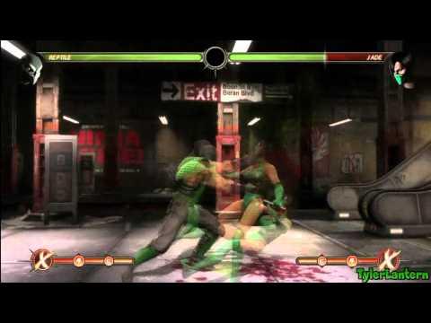 MK9 - Reptile Combo Compilation - Mortal Kombat 9 (2011)