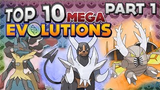 Top 10 Mega Evolutions In Pokémon X And Y! (Part 1)