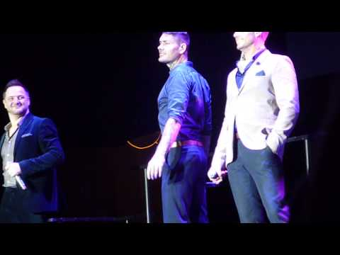 Boyzone Baby can I hold You Birmingham 6/12/13