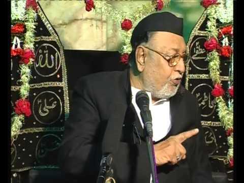 Maulana Mirza Mohammed Athar, Majlis 8, Mahe Moharram 2012/2013, Venue = Mogul Masjid (Mumbai)