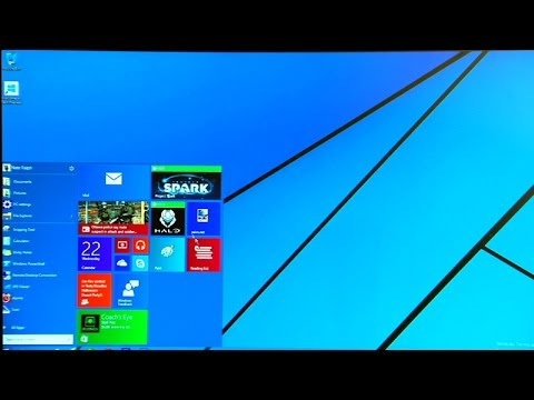 Take a look at the Windows 10 Start menu