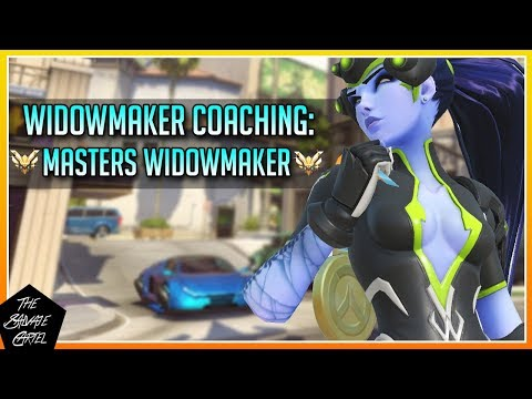 WIDOWMAKER COACHING: EXECUTING PLAYS & STAYING ALIVE! WIDOWMAKER GUIDE! [OVERWATCH]