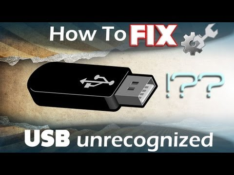 How to Fix USB Device Not Recognized - USB Not Working?