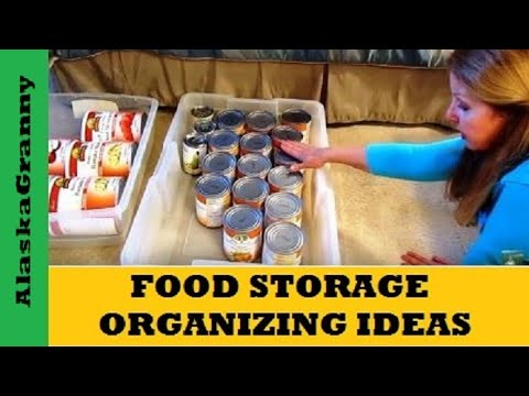 Food Storage Organizing Idea