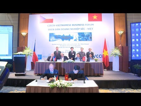 Hợp tác thương mại Việt Nam - Cộng hòa Séc - Cơ hội cho doanh nghiệp Việt
