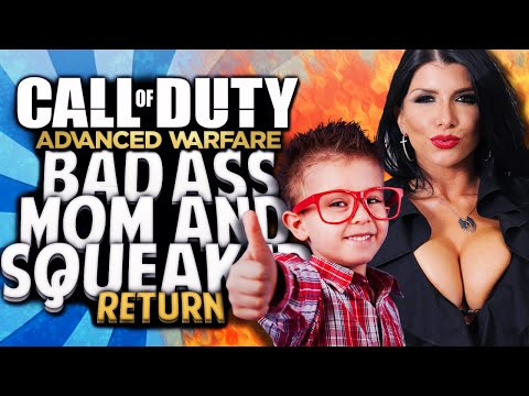 COD AW - Coolest Mom and Badass Squeaker Return!! (Advanced Warfare Funny Moments)