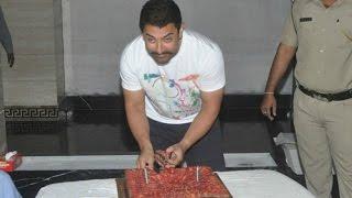 aamir khan birthday celebrations, aamir khan 51st birthday celebrations, aamir khan movies