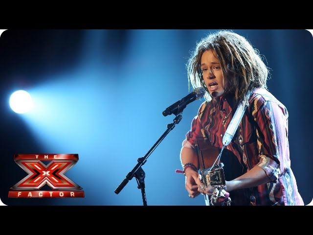 Luke Friend sings Skinny Love by Bon Iver - Live Week 8 - The X Factor 2013