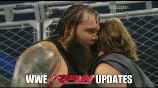 WWE RAW 1/13/14: Steel Cage Match Daniel Bryan & Bray