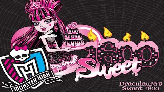 Monster High Draculaura's Sweet 1600 Freaky Fusion Movies