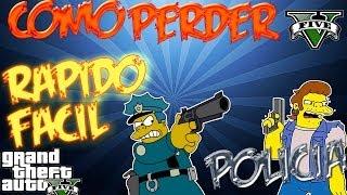 GTA 5 Como Perder Rapido Y Facil A La Policia Grand Theft