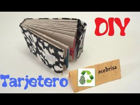 63. RECICLAJE DE TUBOS DE PAPEL (TARJETERO)- DIY CARD CARRIER