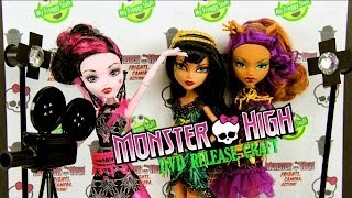 Monster High: Frights, Camera, Action DVD Extreme Craft