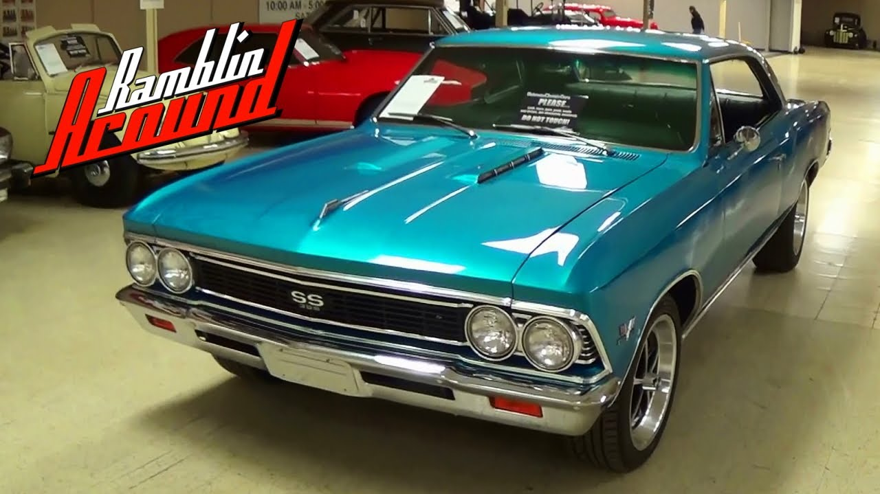 1966 Chevrolet Chevelle Ss 396 Big Block Muscle Car Youtube