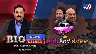 Big News Big Debate : Amit Shah Vs KCR..