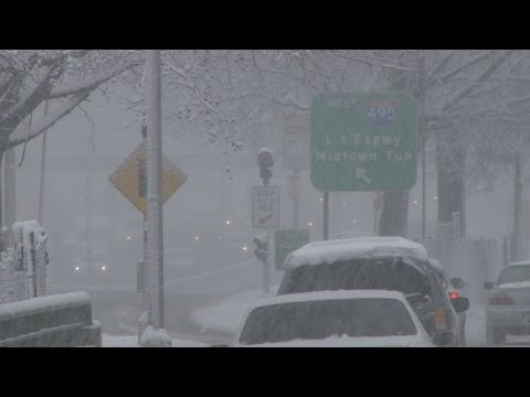 NYC Snow Storm - February 3rd, 2014 Winter Storm Maximus