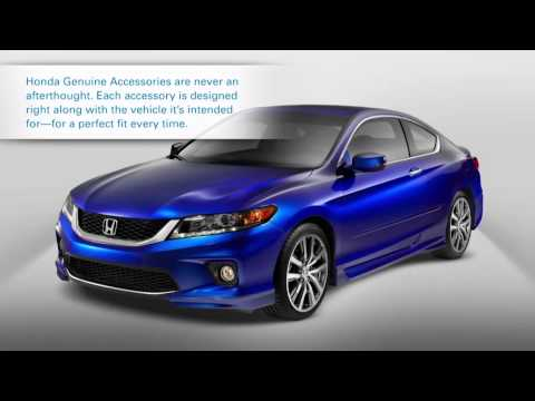2013 Honda Accord Sedan Accessories Video - Partscheap.com
