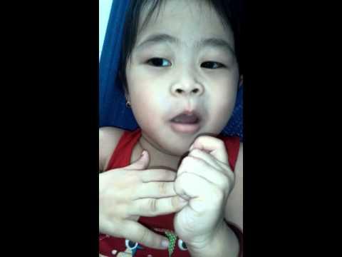 lk xuân mai...  bé 3 tuổi hát cực hay