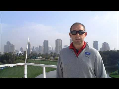 Graham Glynn Site Manager for Golf in Dubai at the 25th Omega Dubai Desert Classic