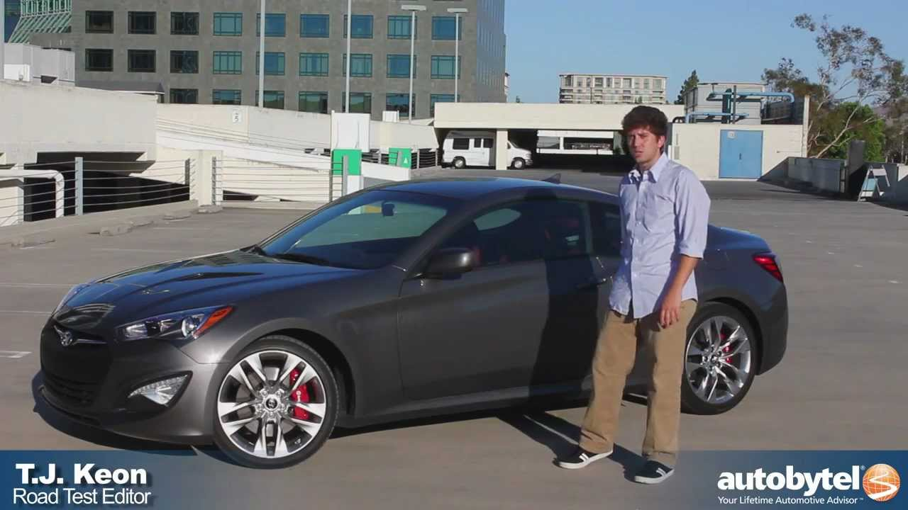 2013 hyundai genesis coupe 3 8 r spec test drive sport compact car review youtube. Black Bedroom Furniture Sets. Home Design Ideas