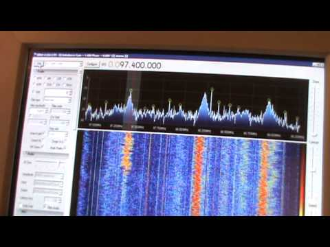 Weird interference captured with SDR equipment ???