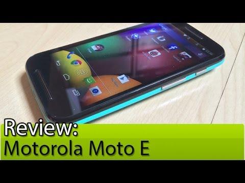 Prova em vídeo: Motorola Moto E | Tudocelular.com