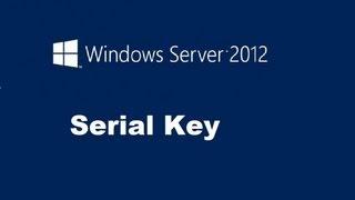 Windows Server 2012 Product Key