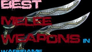 The Best Melee Weapons In Warframe