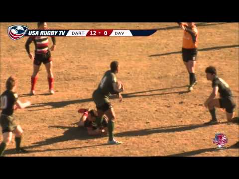 2013 USA Rugby College 7s National Championship: Dartmouth vs Davenport