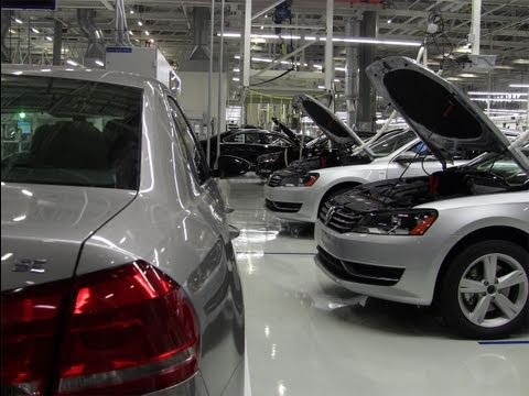 How Volkswagen builds the 2012 VW Passat in Chattanooga, Tennessee