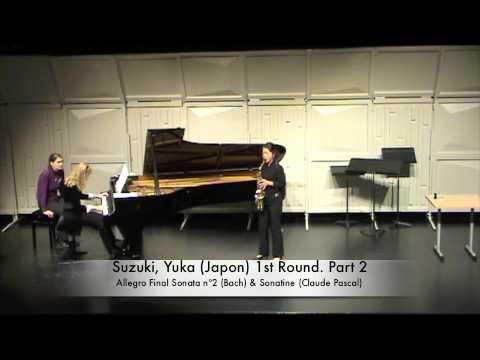 Suzuki, Yuka Japon 1st Round Part 2