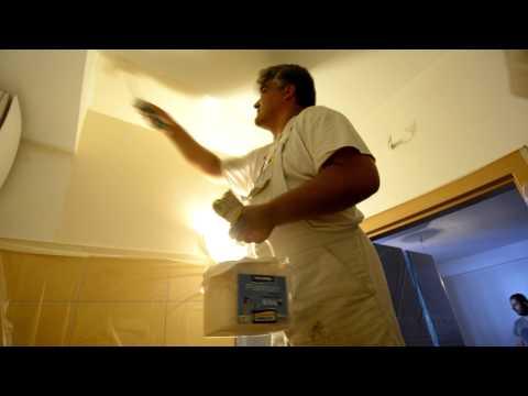 Konyha és fürdőszoba festés házilag (Poli-Farbe Platinum festék)