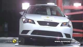 Seat Leon kaza testi - Euro NCAP 2012