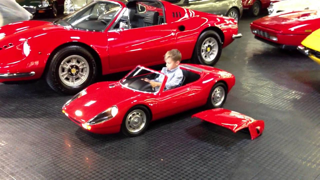 Porsche 904 Carerra GTS Electric Kid Car Test Drive