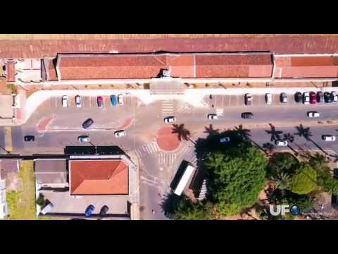 Vídeo Vídeo feito por drone mostra como trânsito na região da Estação da Fepasa é complicado em São Carlos