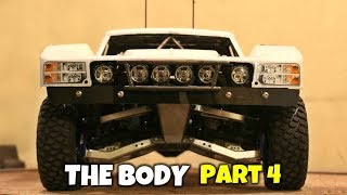 Custom 4x4 RC Trophy Truck Build - Part 4: The Body & Scale Touches