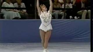 Tonya Harding (USA) - 1991 Skate America, Ladies' Free Skate.