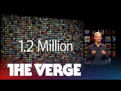Tim Cook crunches the numbers at WWDC 2014