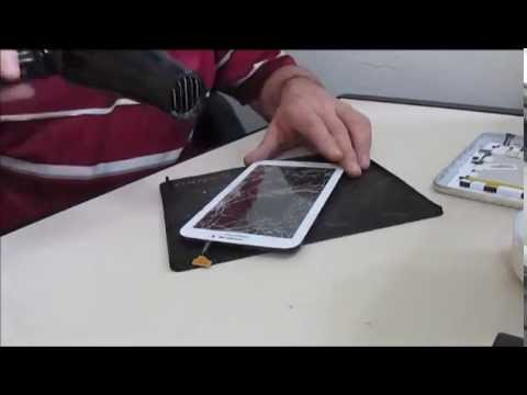 Troca do Vidro (Tela Trincada) Touchscreen do Tablet 7