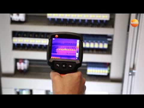 Thermography in facility management with the thermal imager testo 870