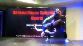 ALBIR ROJAS and CAROLA: New choreography in SENSUAL DANCE FESTIVAL, Madrid 2013