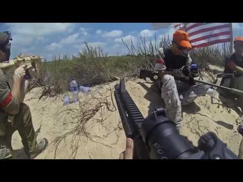 American Civil War Airsoft event in Caesarea Israel