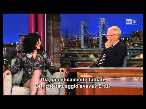 Cher al David Letterman 24-09-2013 (sub ita) Part 1