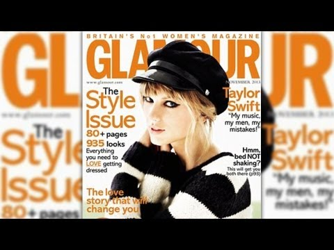 Taylor Swift Talks Miley Cyrus & Her Next Boyfriend in Glamour UK November 2013