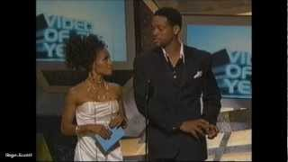 Will & Jada Smith Host '05 BET Award Show
