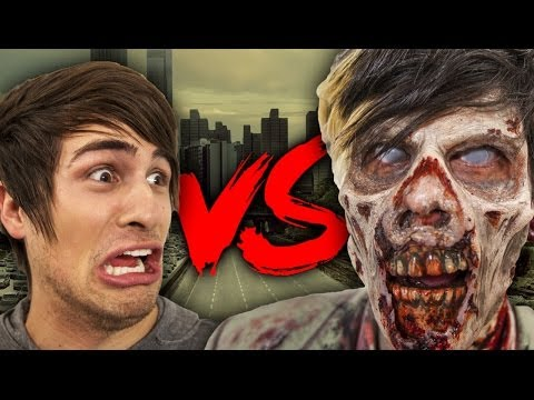ZOMBIES VS  SMOSH