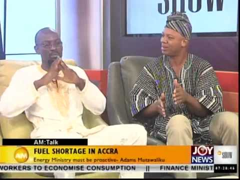 Fuel Shortage in Accra - AM Talk (26-6-14)