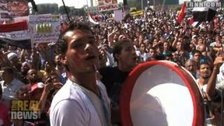 Real News: Egyptians Protest against Torture and Murder of Prisoner