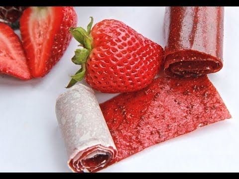 Natural Strawberry Fruit Leather (Take Back the Snack Collab)