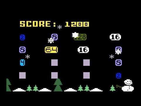 2048 game for Intellivision (now with snow and 8192)